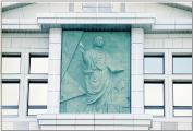 彫刻レリーフ(某大学)